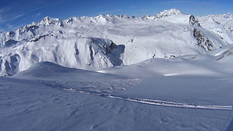 Les Pentes de Lorès à Val d'Isère Lores019