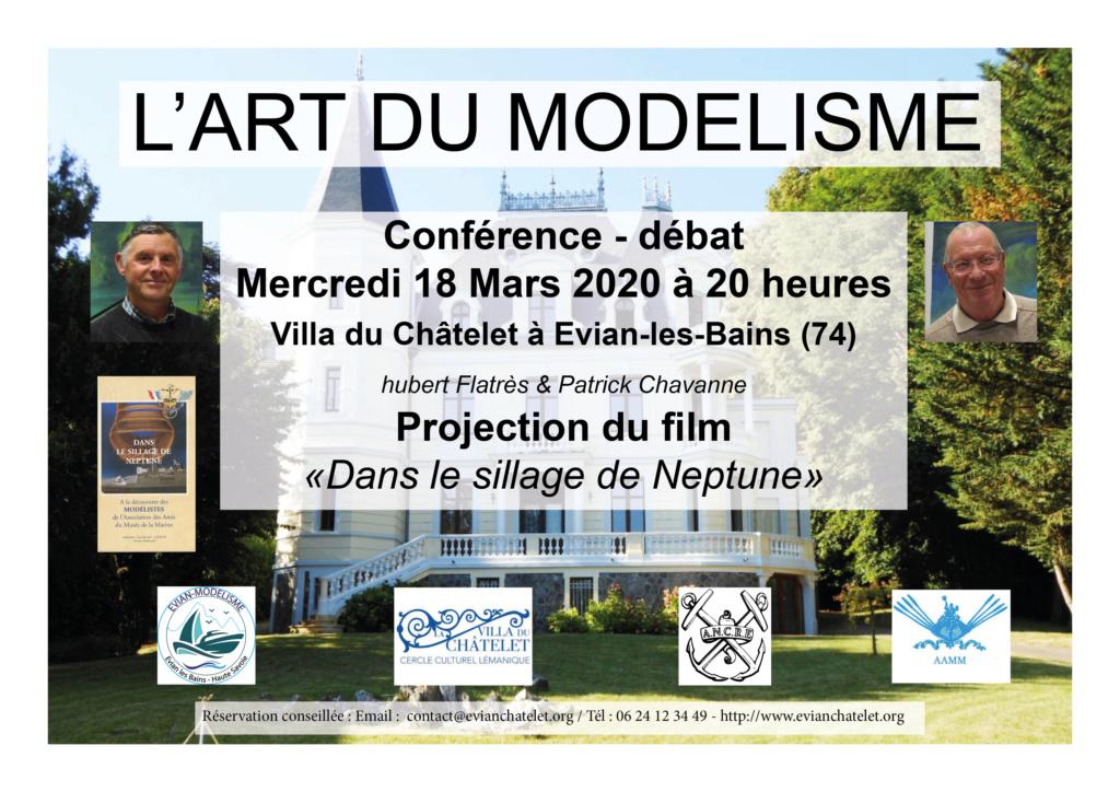 Conférence sur l'art du modélisme naval le 18 Mars à Evian-les-Bains (74) Affich15