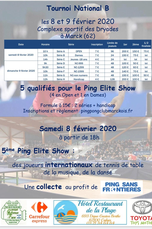 Ping Elite Show 5 les 8 et 9 février 2020 20191211