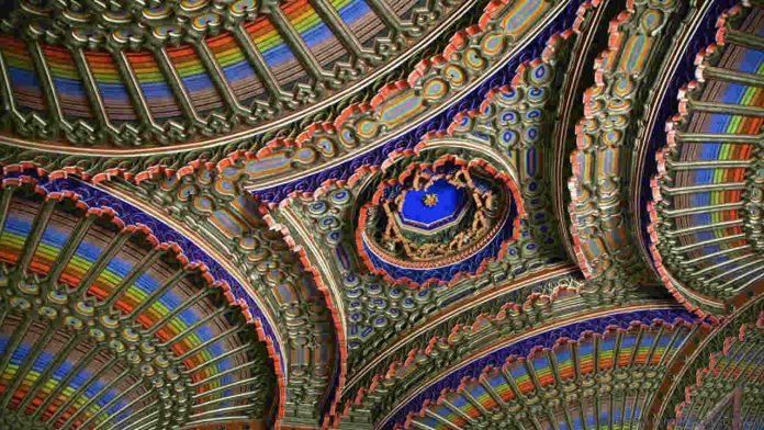 10 najlepših plafona na svetu 1-696x10
