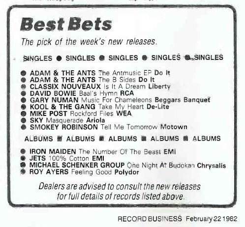 ★ DAVID BOWIE - Discografía confitada  ★  Tonight (1985) y Never let me down (1987). Un mal día lo tiene cualquiera. - Página 18 Record14