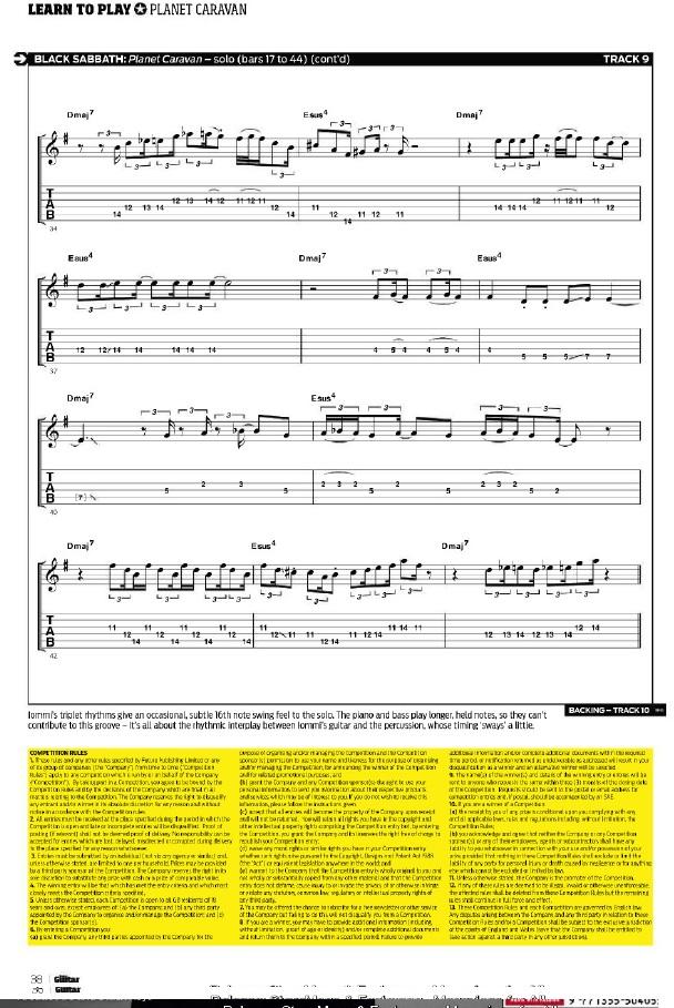 Black Sabbath 50: Legado Turori13