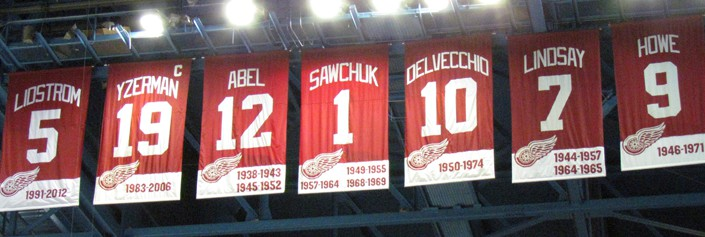Detroit Red Wings Retire13