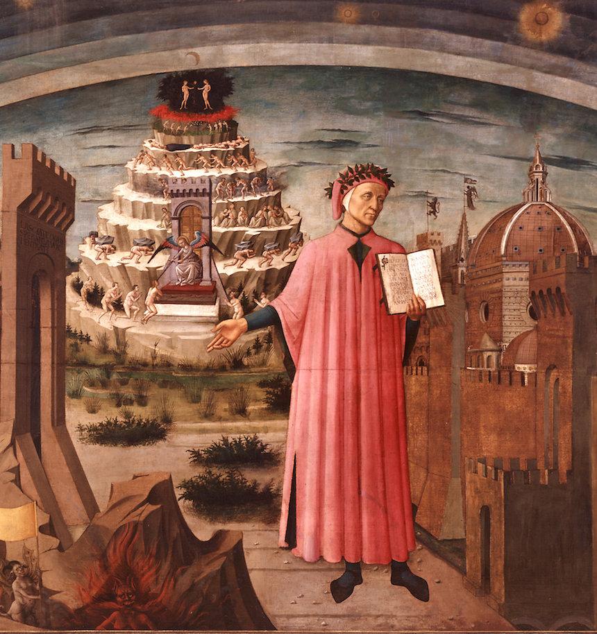 Canciones basadas en libros (el tópic de la MELOMANÍA LITERARIA) Dante-10