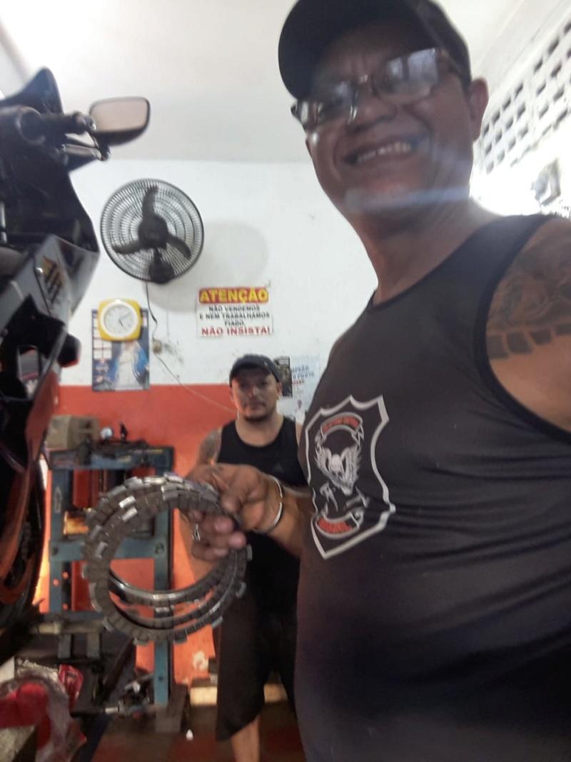 Muito Feliz Consegui encontrar na minha cidade Fortaleza os discos de embreagens fischer da galo .. 5d3b2911