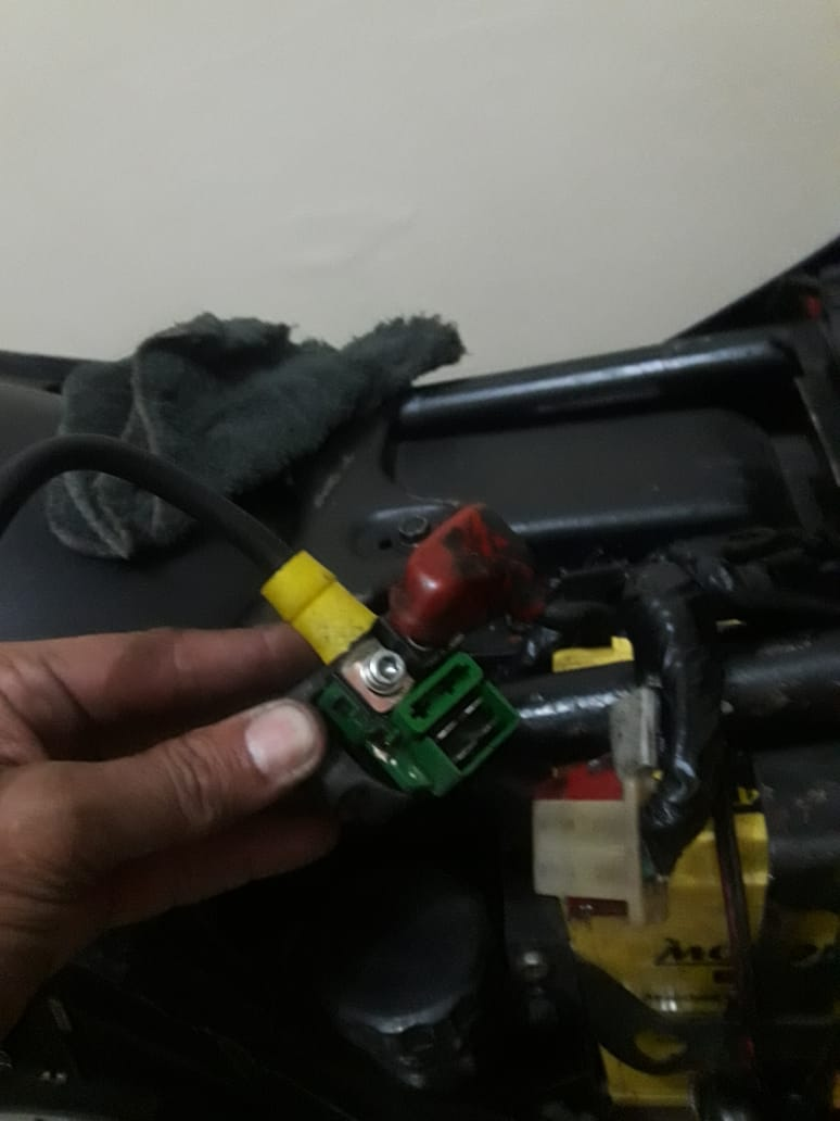 Troca do relé de partida da galo por um eletrônico,,  Aa5a8d10