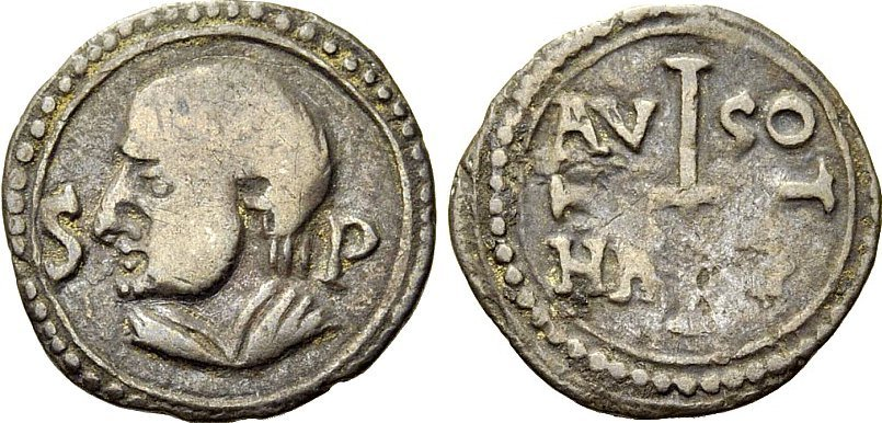 Dinero merovingio de Ansedertus. Marsella Image010