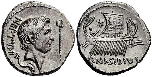 Denario falso de Pompeyo Magno Unname10