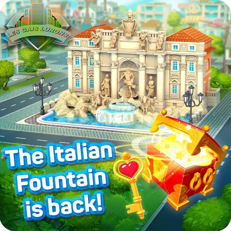 La fontaine italienne est de retour! 46142710