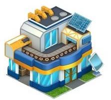 bâtiments améliorés dans le bureau d'architecture! 56615110