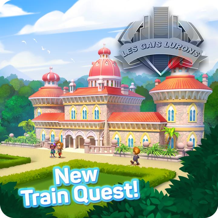 Palais Montserrat - quête avec le train 65296210