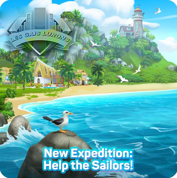 Nouvelle expédition: Sauvez les marins! Couver11