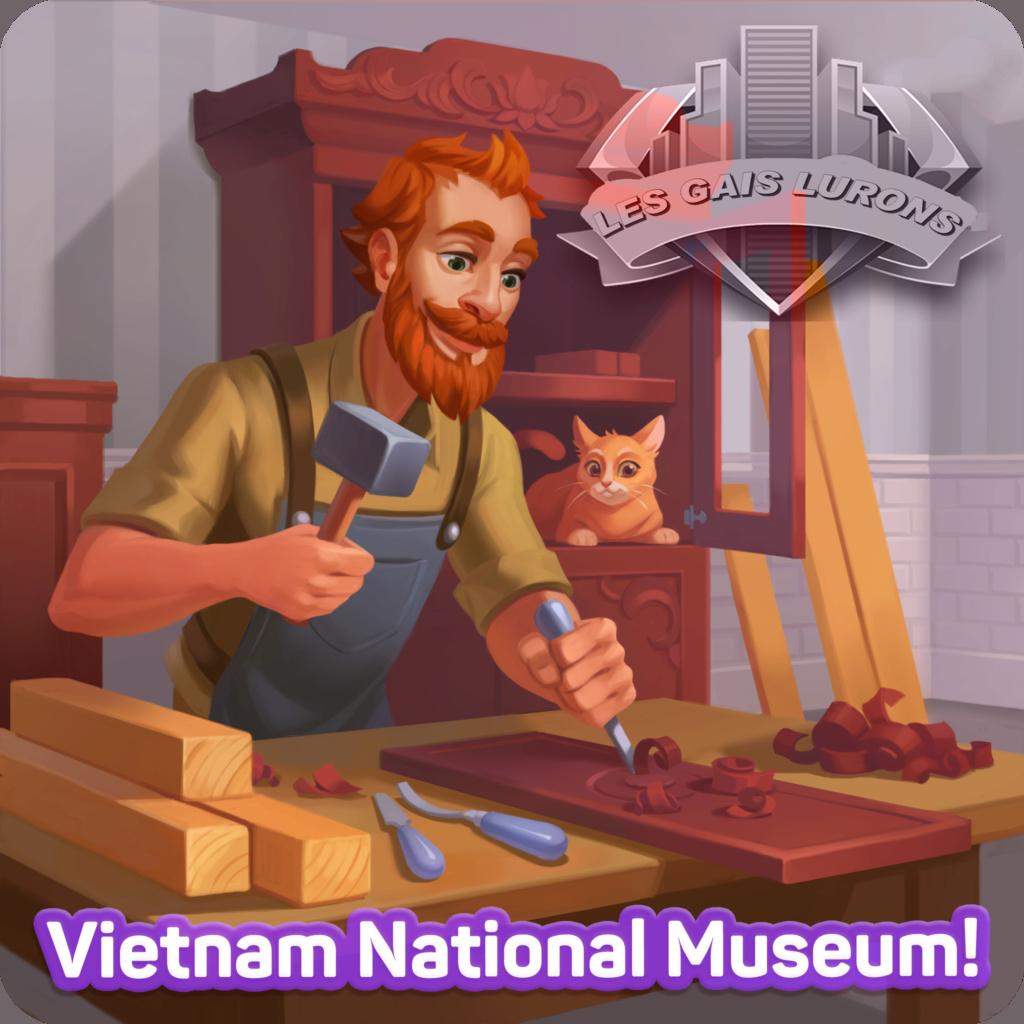 Le musée national du Vietnam  Uwuo4510