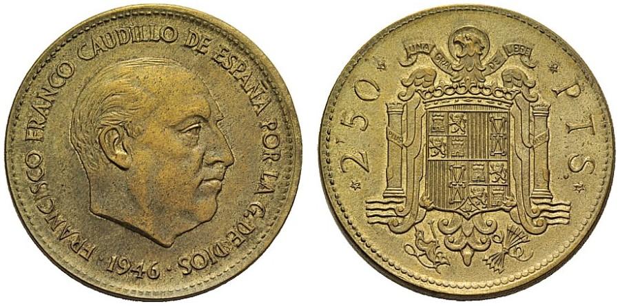 2,5 pesetas Estado Español - Página 5 1946_113