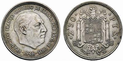 2,5 pesetas Estado Español - Página 5 1946_p10