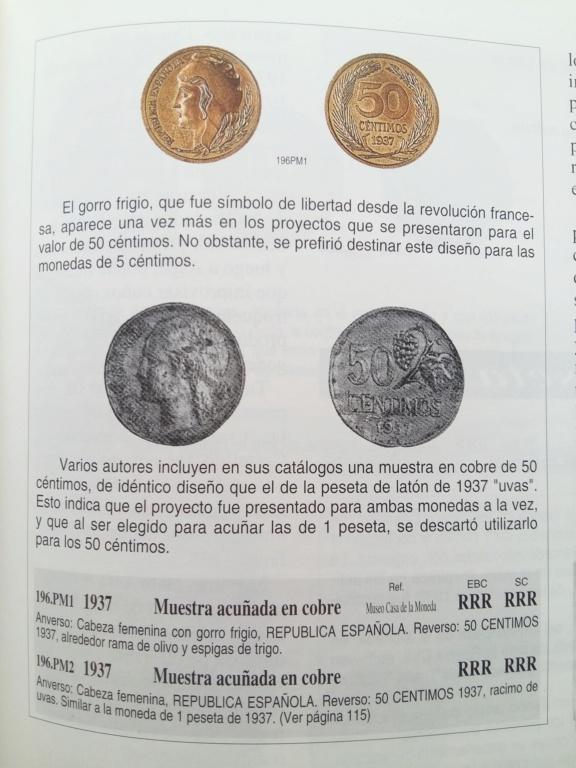 50 Céntimos de 1937. Prueba no adoptada. Opinión 20181110