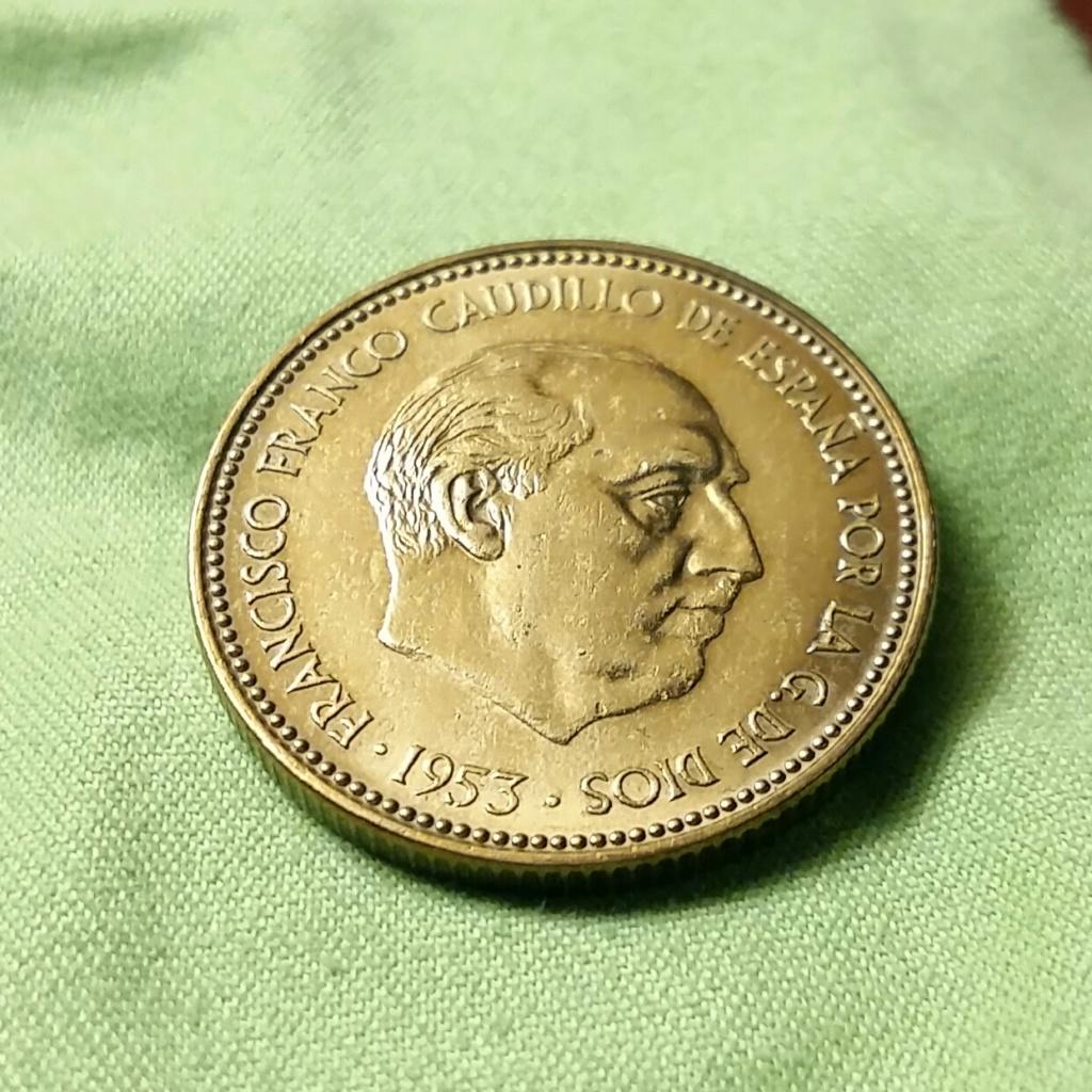 2,50 pesetas 1953 *70 Estado Español 20181118