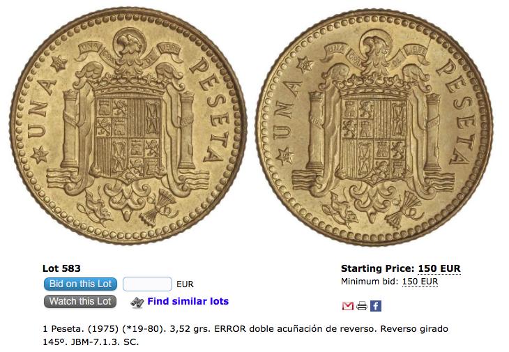 25 pesetas 1975. Juan Carlos I. Plata. Opinión Captur27