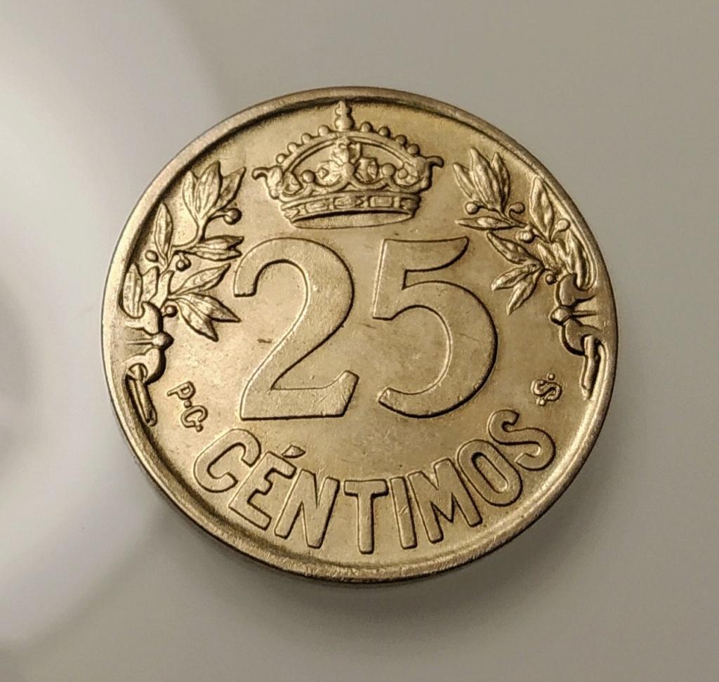 25 céntimos 1925. Afonso XIII Img_2010