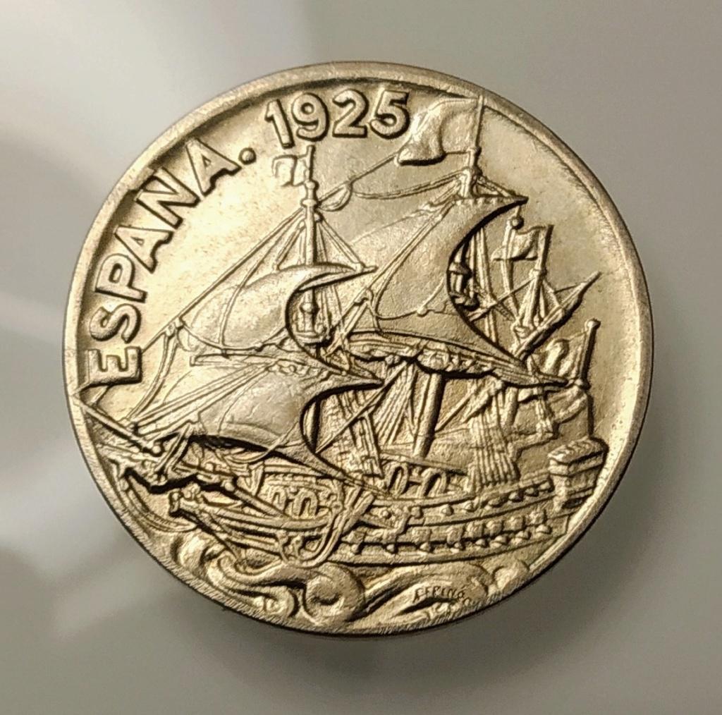 25 céntimos 1925. Afonso XIII Img_2011