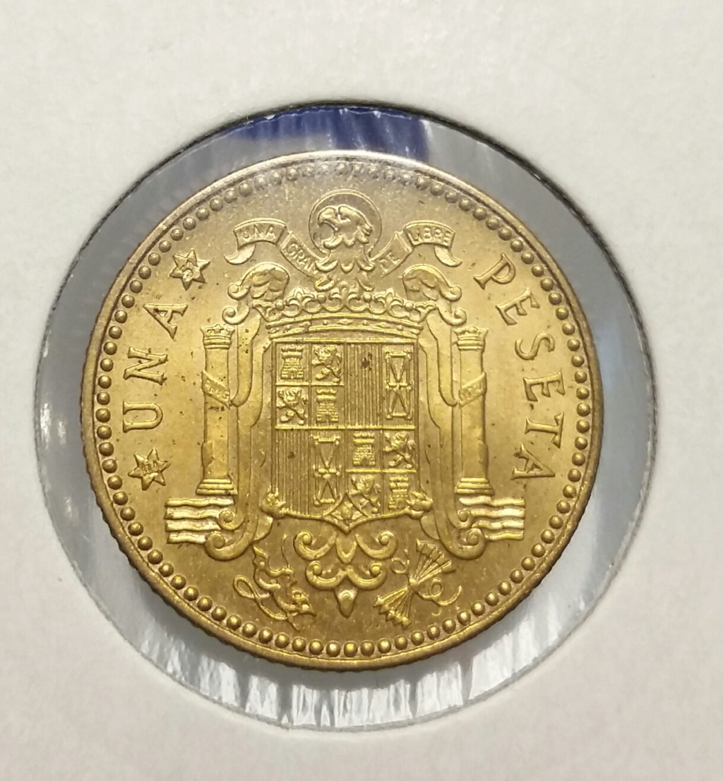 1 Peseta 1947 (*E-51). Estado Español - Página 2 Revers10