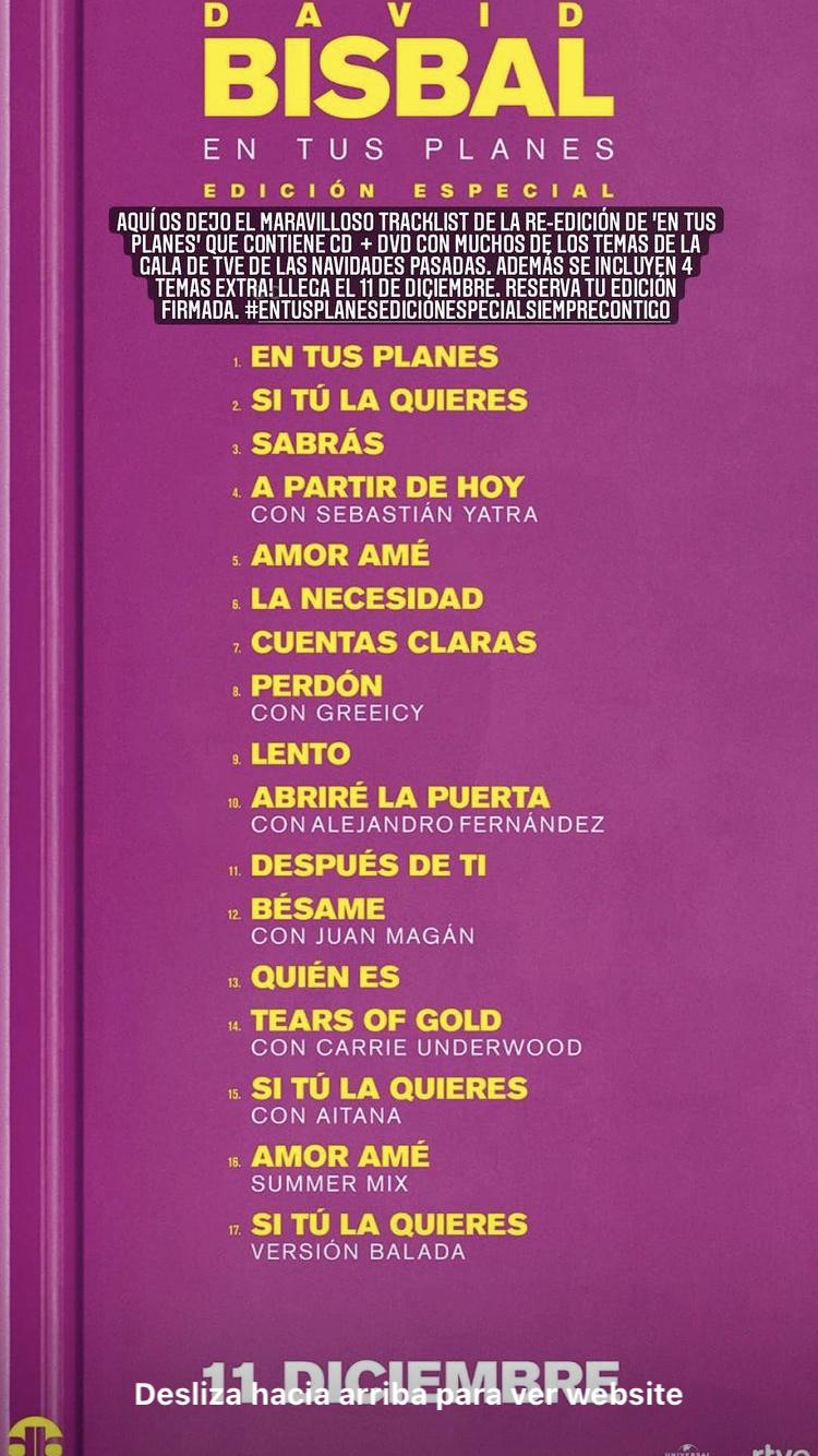 "David Bisbal>> Álbum ""En Tus Planes"" - Página 3 Image010"