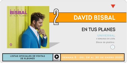 """David Bisbal>> Álbum """"En Tus Planes"""" - Página 2 Numero10"""