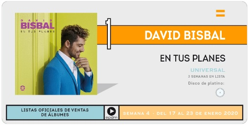 "David Bisbal>> Álbum ""En Tus Planes"" - Página 2 Semana10"