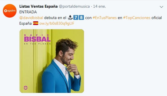 "David Bisbal>> Álbum ""En Tus Planes"" Single10"