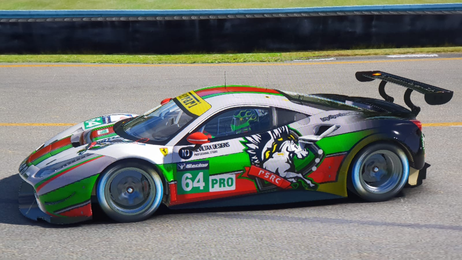 Ferrari GTE // Pinturas Iracing Ferrar10