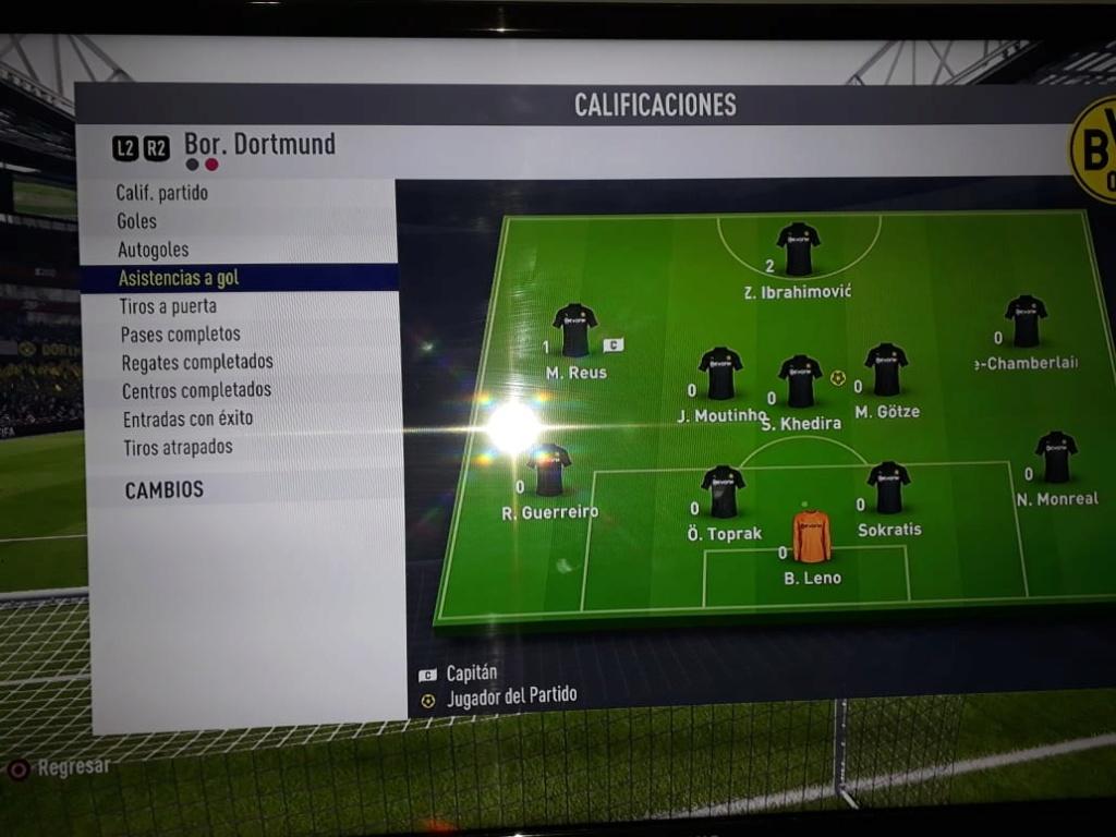 [FECHA 2] Arsenal - Borussia Dortmund Joseas10