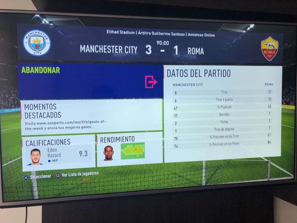 [FECHA 2] Manchester City - Roma Result12