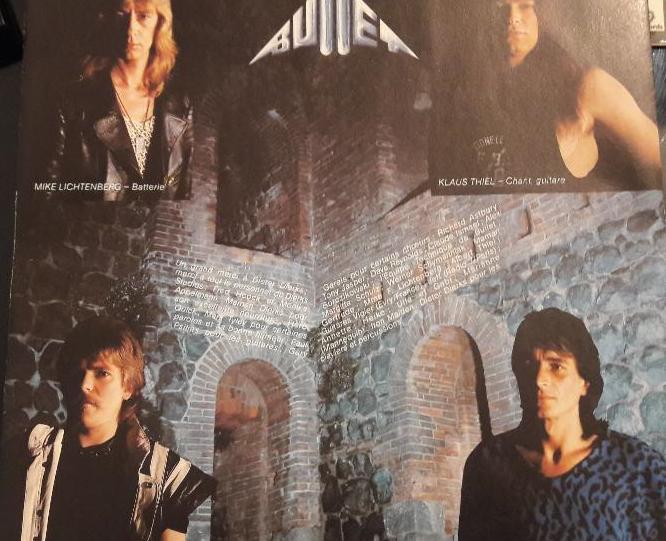 Bullet - No Mercy - 1983 - Allemagne Sans_t14