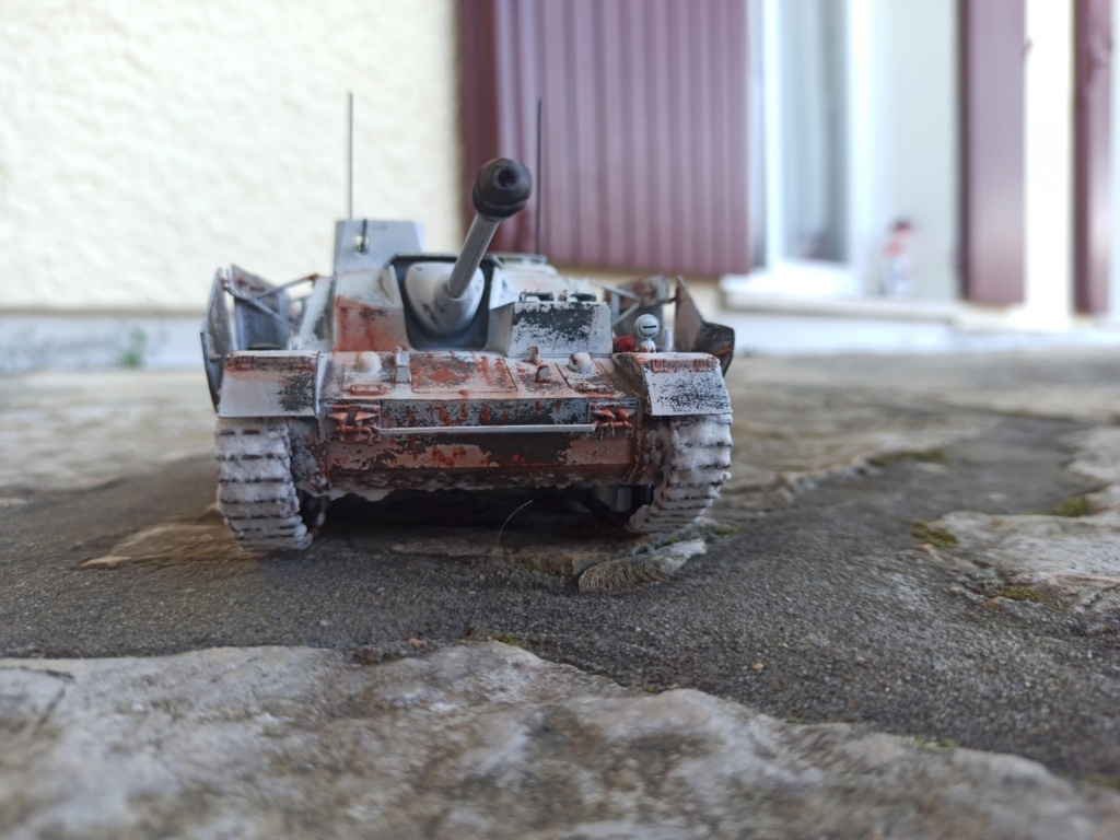 Diorama Stug IV enneigé - 1/35 - Marque inconnue Img_2012