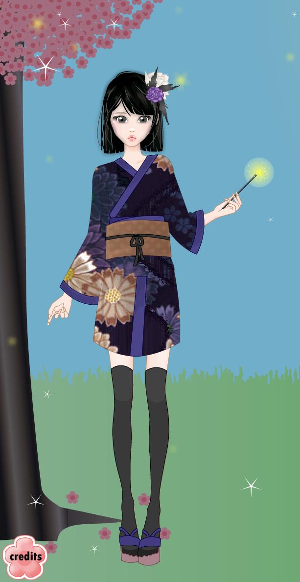 Spring Kimono Gallery Hotaru10