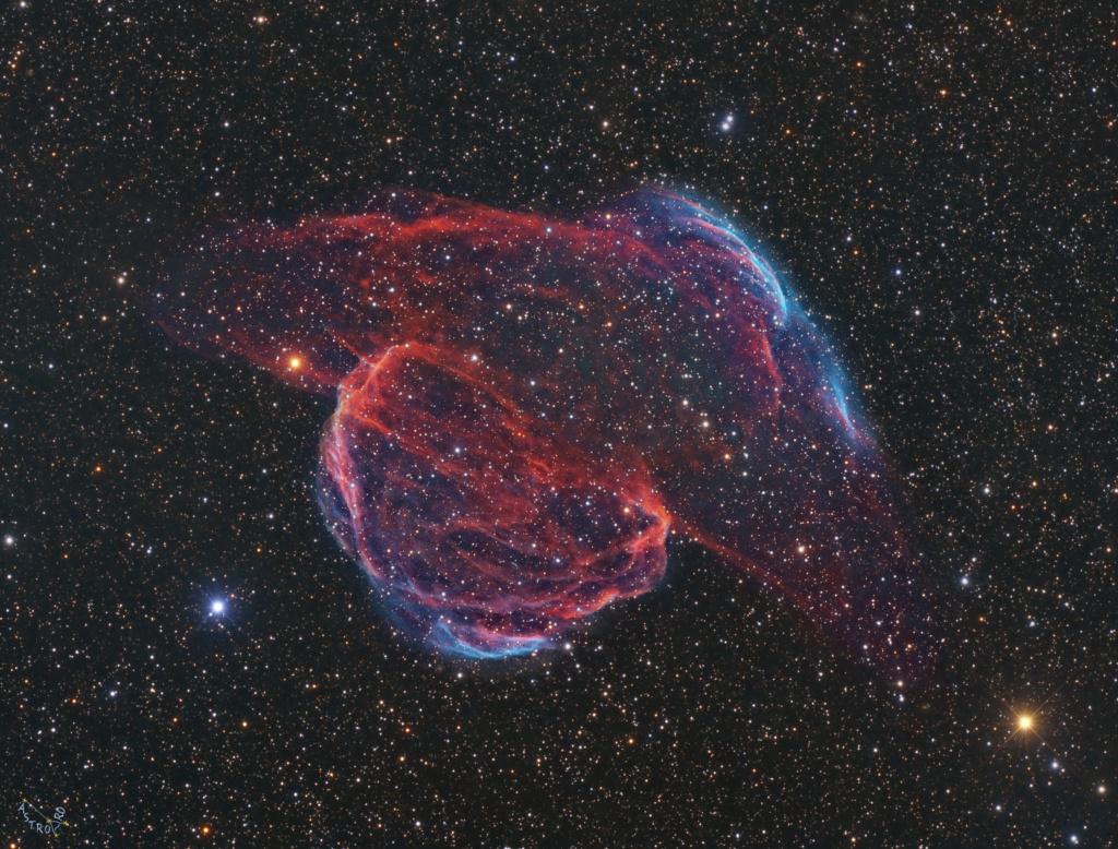 SH2-224 Imagée au Alentejo Remote Observatory Portugal Sh2_2211