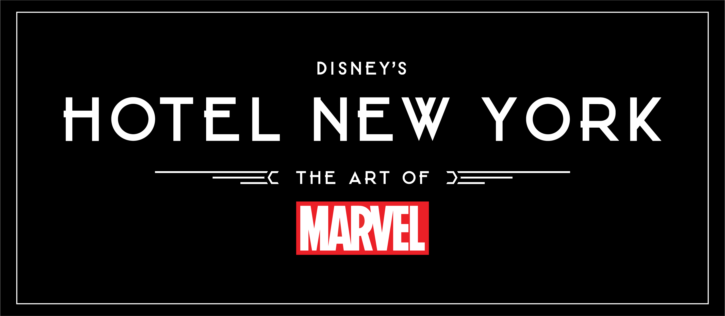 Disney's Hotel New York - The Art of Marvel 01_log10