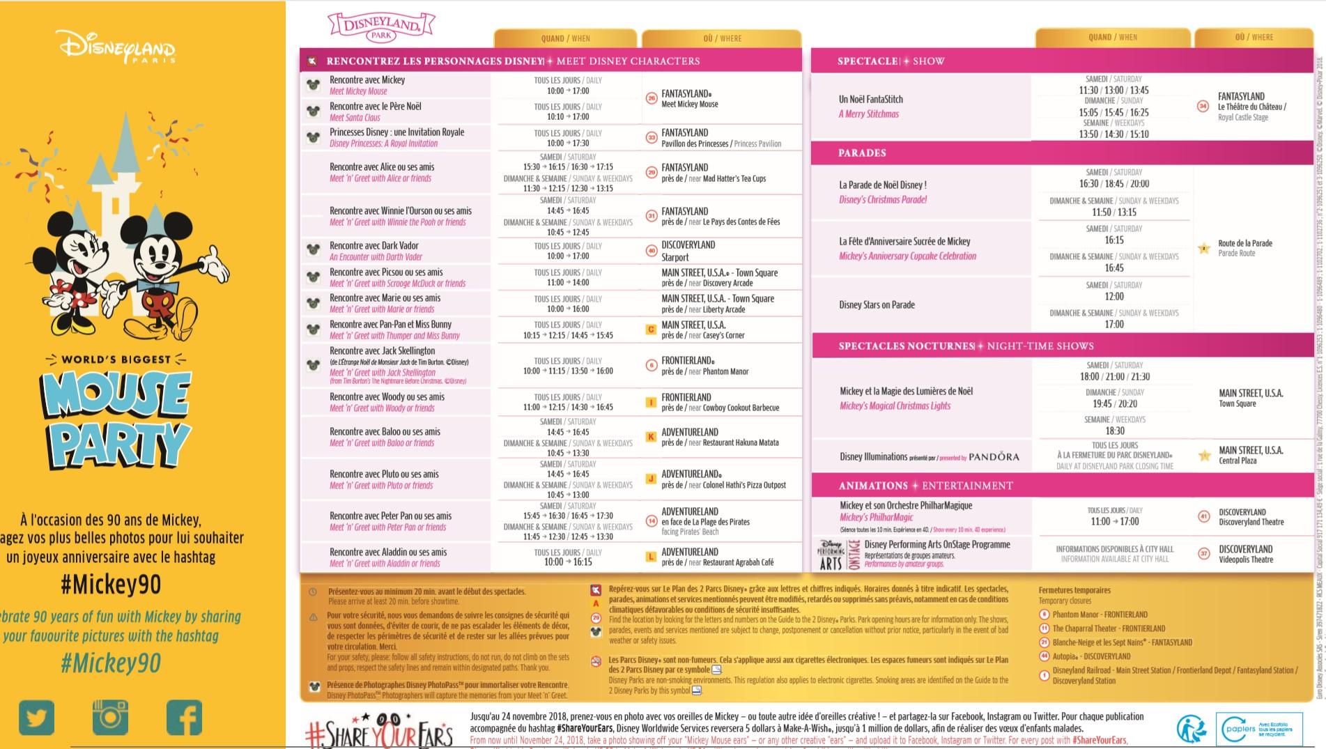 Il programma settimanale del parco - Pagina 2 17-23n10