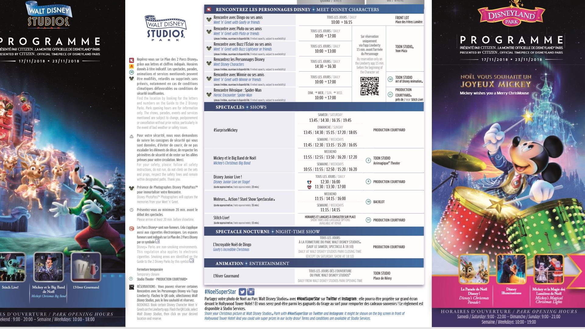 Il programma settimanale del parco - Pagina 2 17-23n11