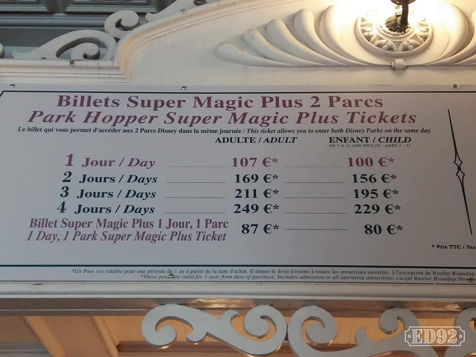 Biglietti MINI - MAGIC - SUPERMAGIC 2019-017