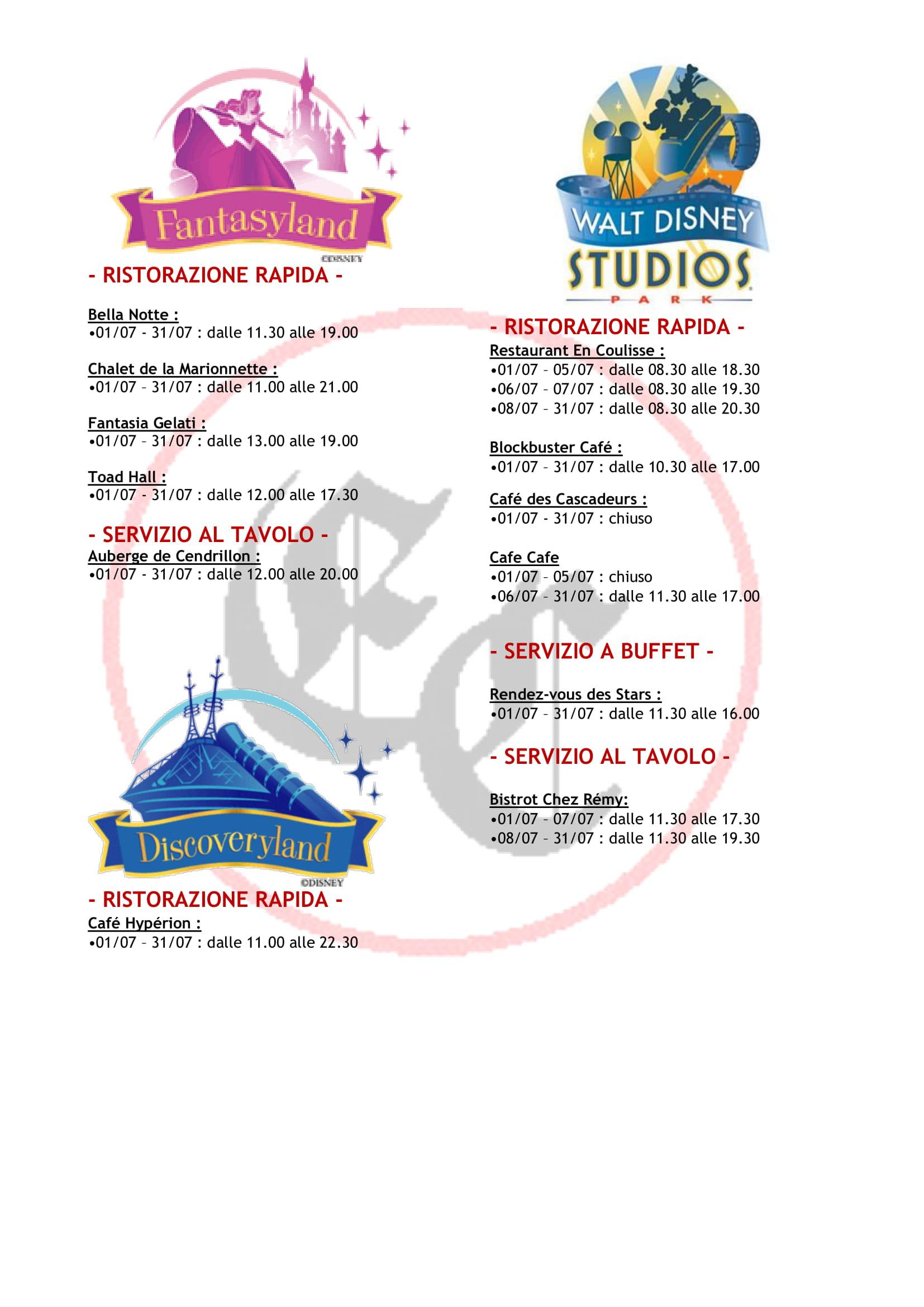Orario di apertura ristoranti dei 2 parchi - Pagina 3 2019-020