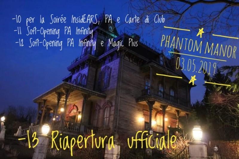 2019 - Phantom Manor rehab  - riapertura ufficiale: 3 maggio 2019 - Pagina 19 20190411