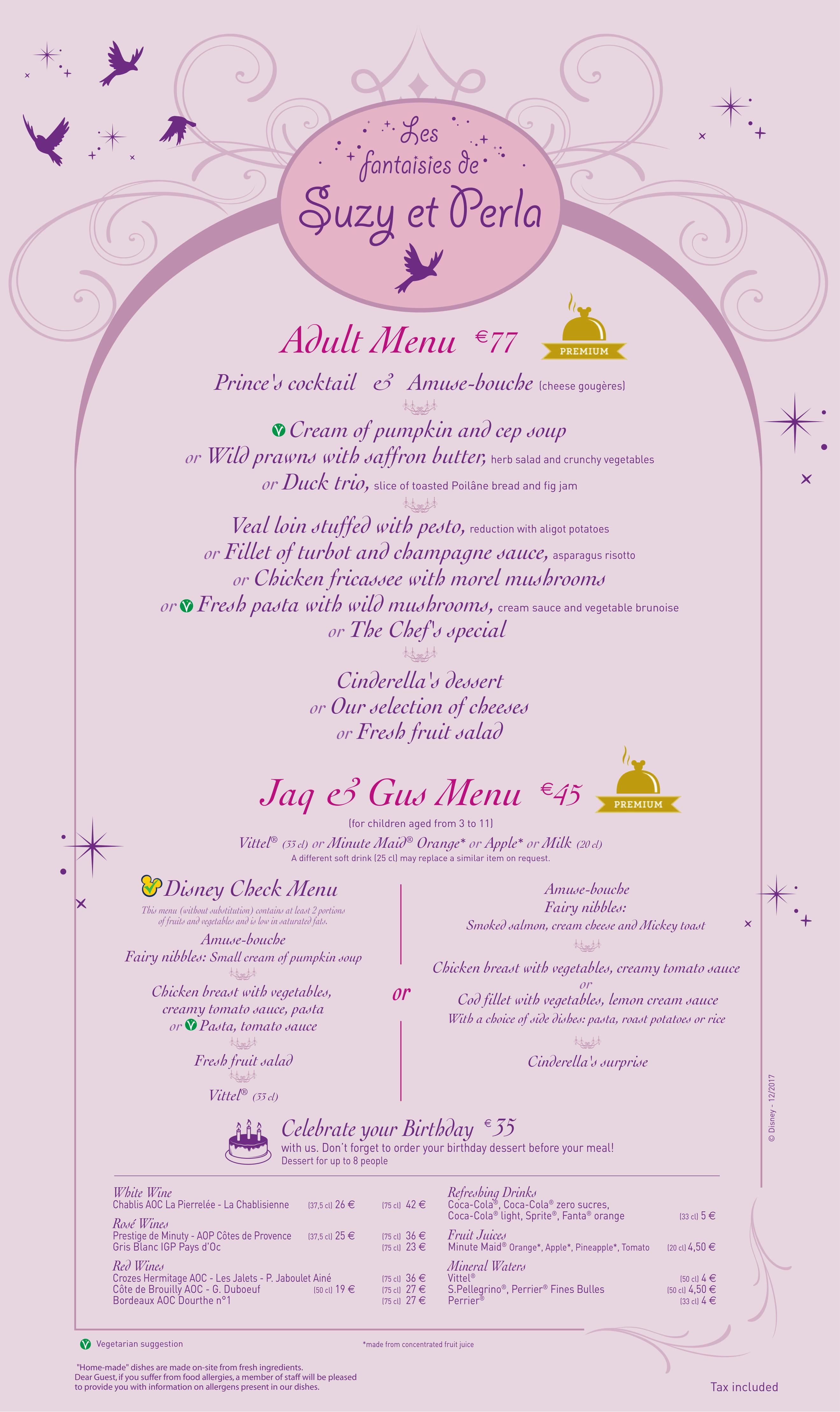 Menu ristoranti servizio al Tavolo Auberg10