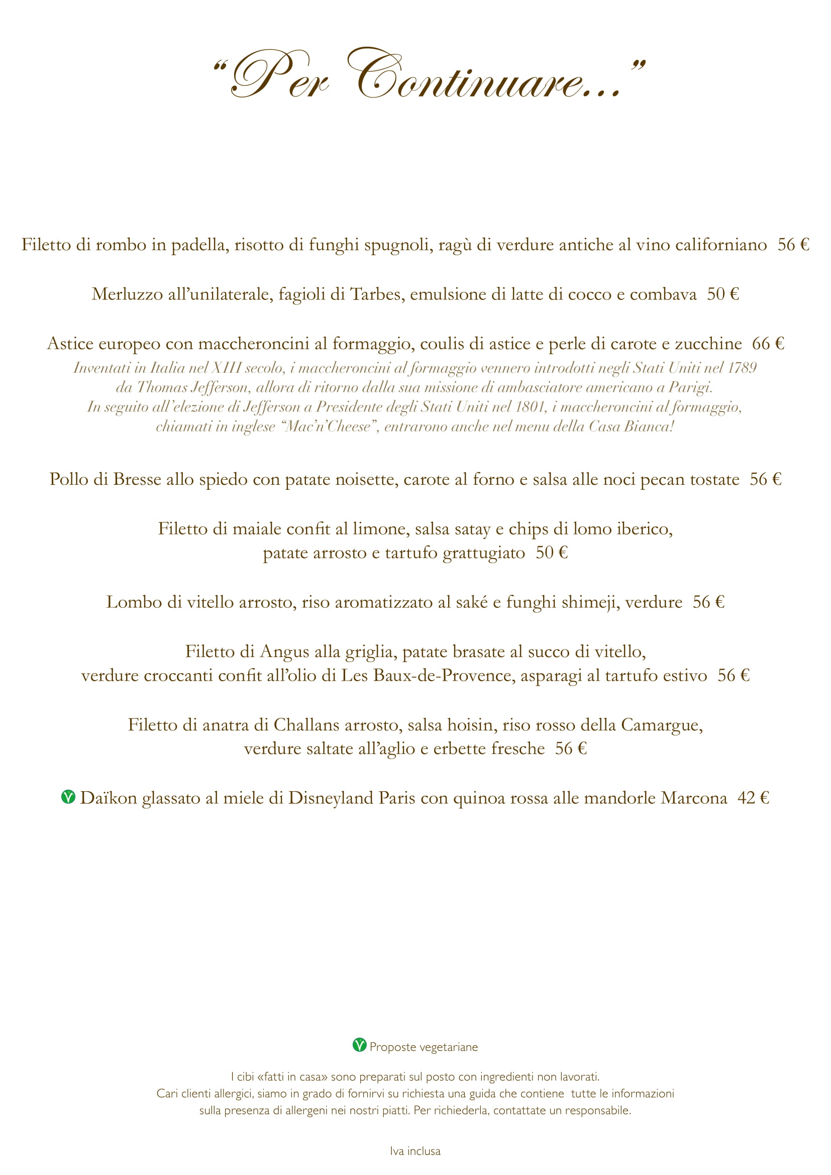 Menu ristoranti servizio al Tavolo - Pagina 2 Califo13