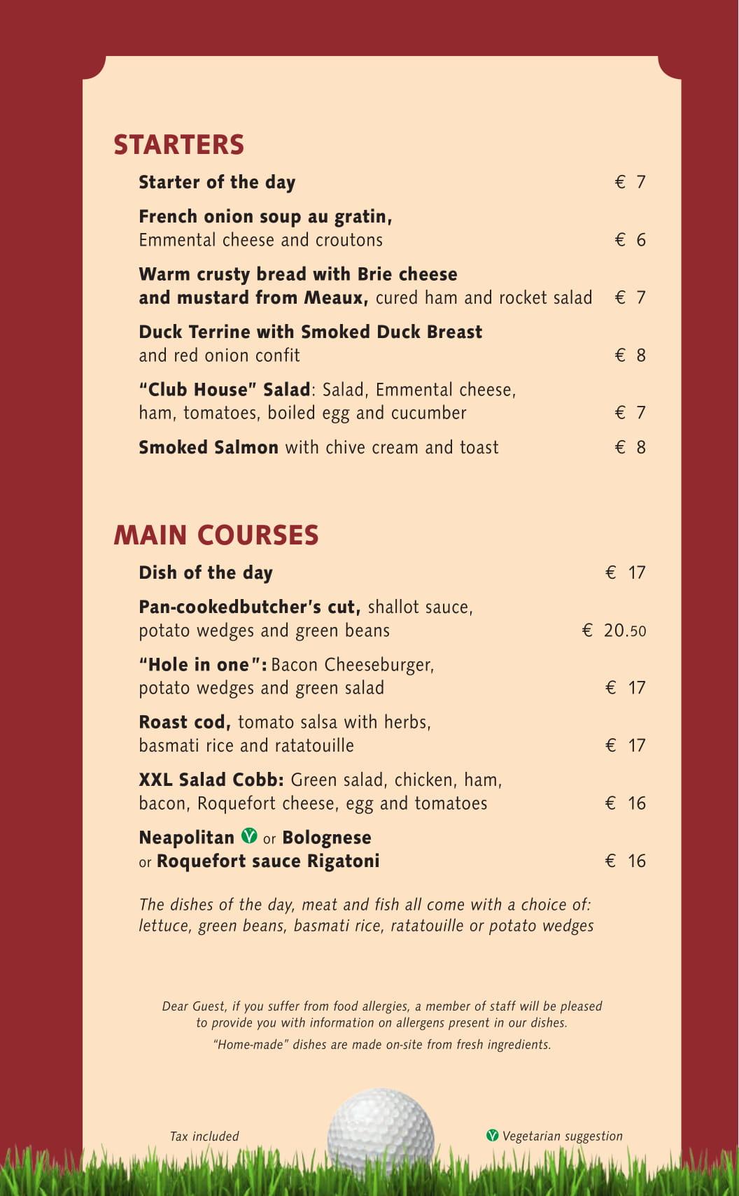 Menu ristoranti servizio al Tavolo - Pagina 2 Club-h12