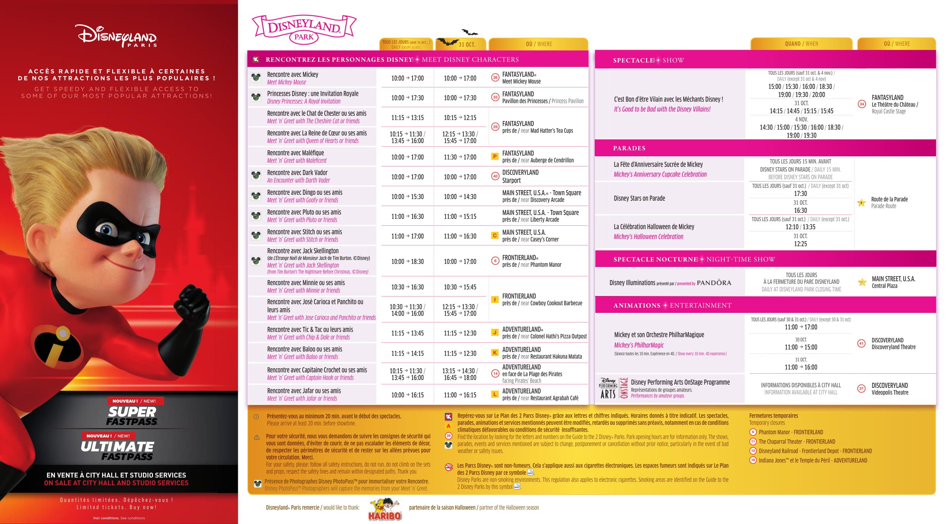 Il programma settimanale del parco - Pagina 2 Disney26