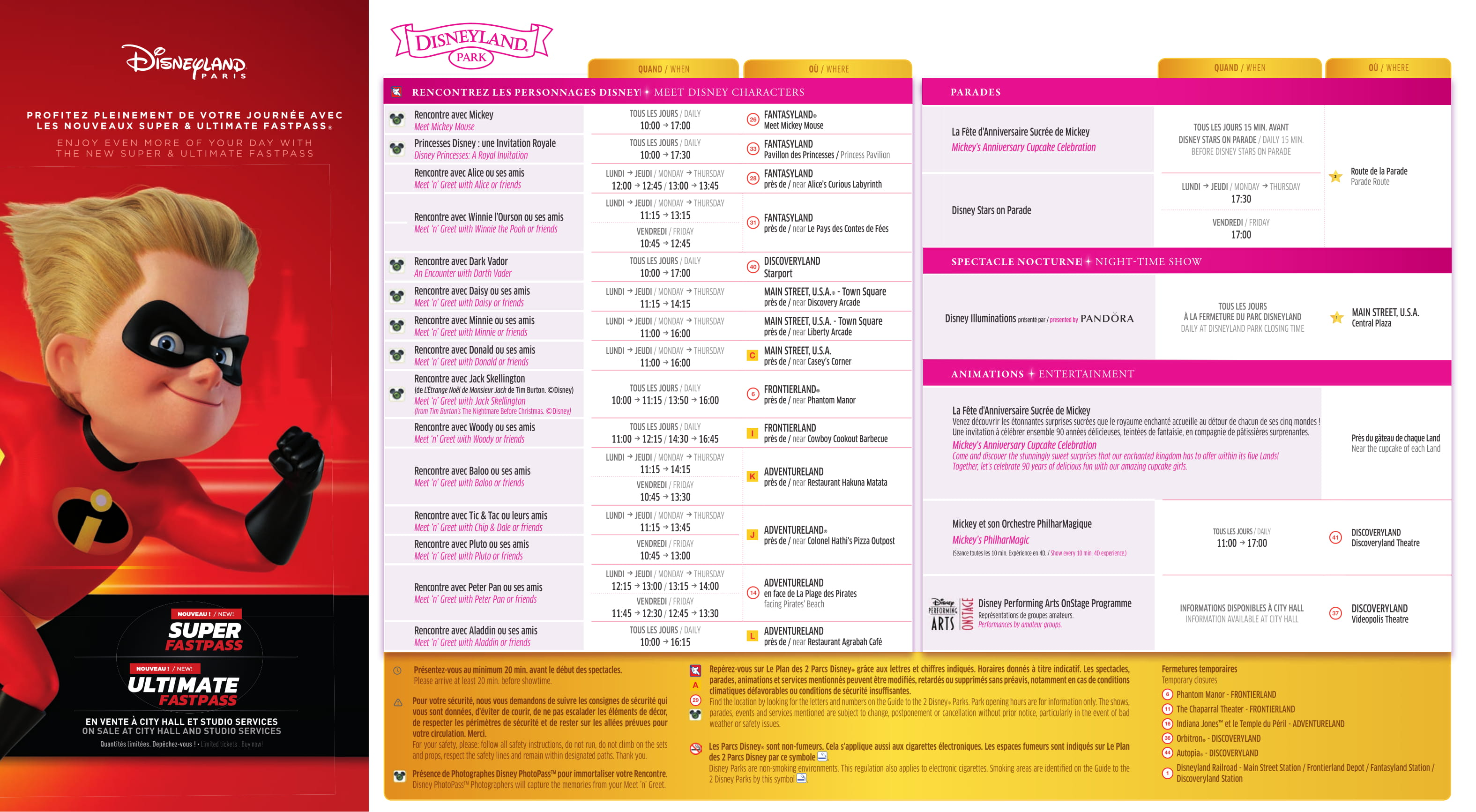 Il programma settimanale del parco - Pagina 2 Disney28
