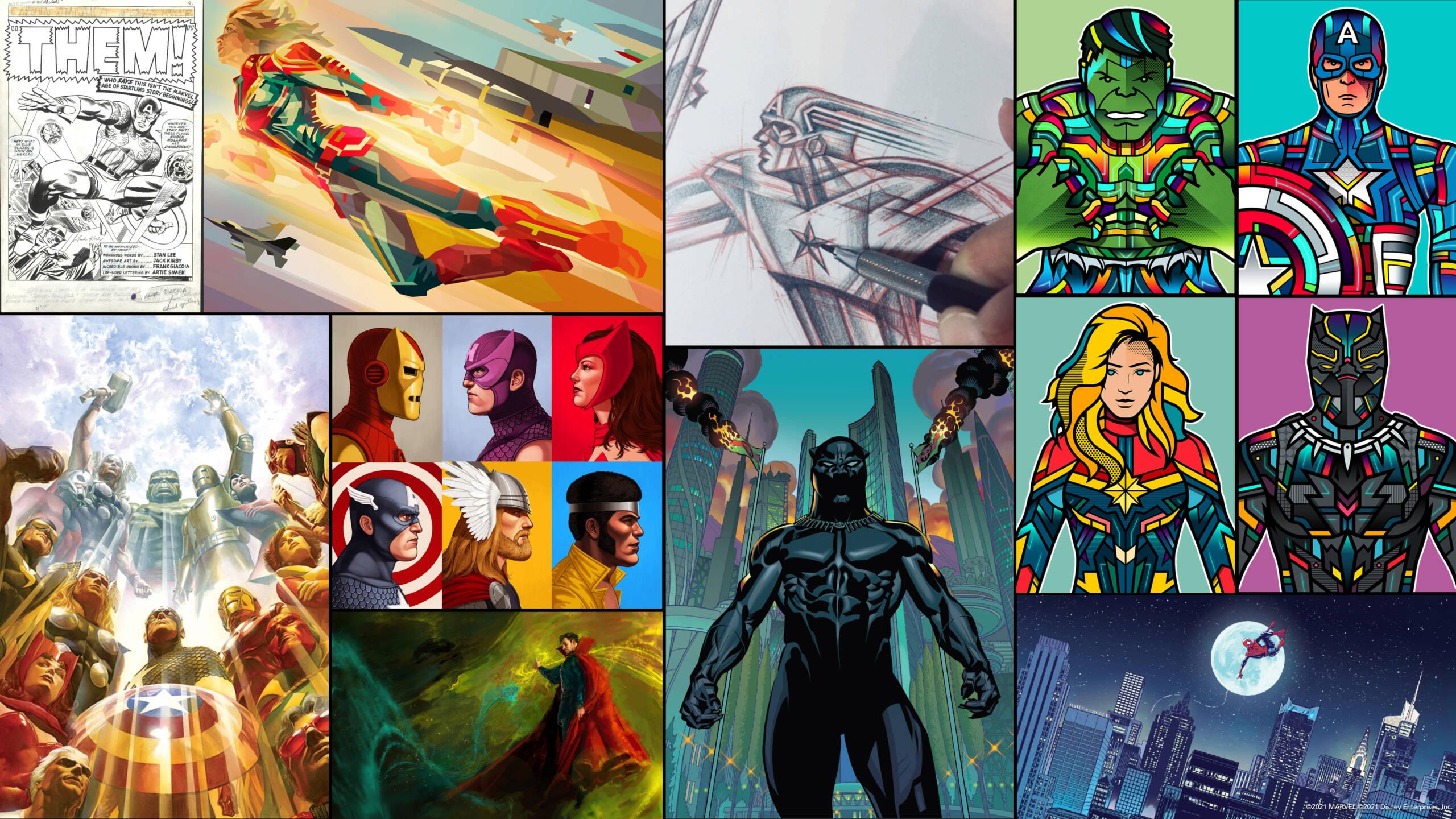 Disney's Hotel New York - The Art of Marvel - Pagina 2 Divers10