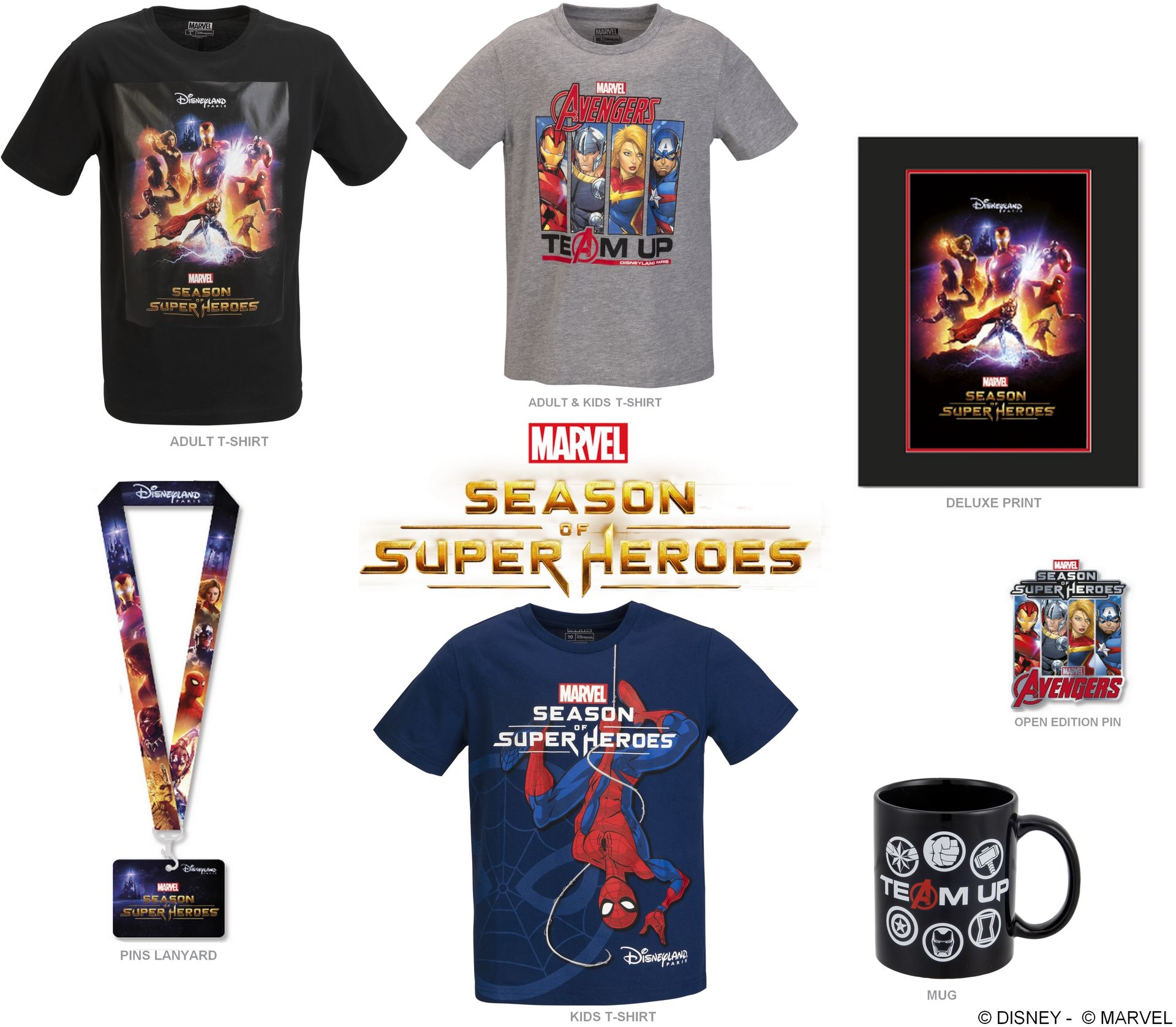 2019 - Marvel Summer of Super Heroes Hd192025