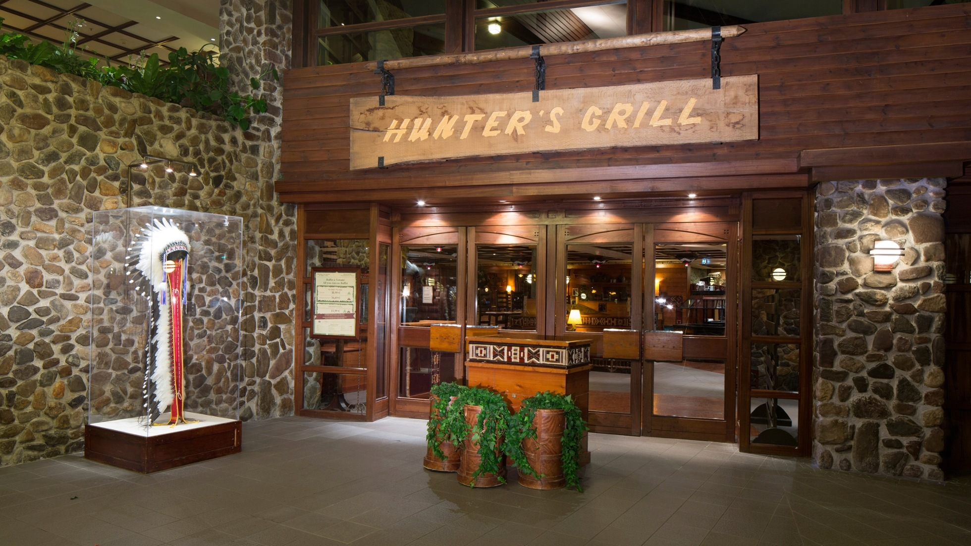 Menu ristoranti servizio Buffet Hunter10